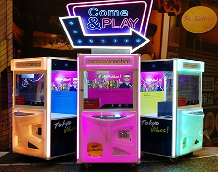 orchard-central-claw-machine-rental