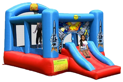 Rocket Bouncy Castle Rental.png