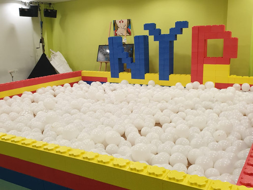 Nanyang Polytechnic Open house 2019! Led Ball Pit