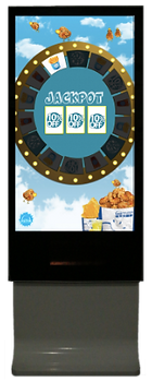 spin the wheel vending machine