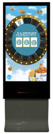 spin the wheel vending machine