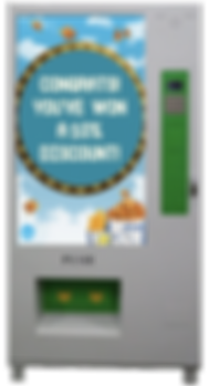interactive vending machine