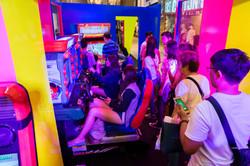 Arcade for next event