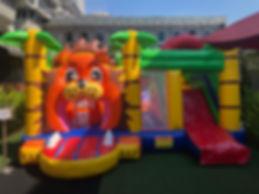 Lion Kingdom Bouncy Castle Rental.jpeg