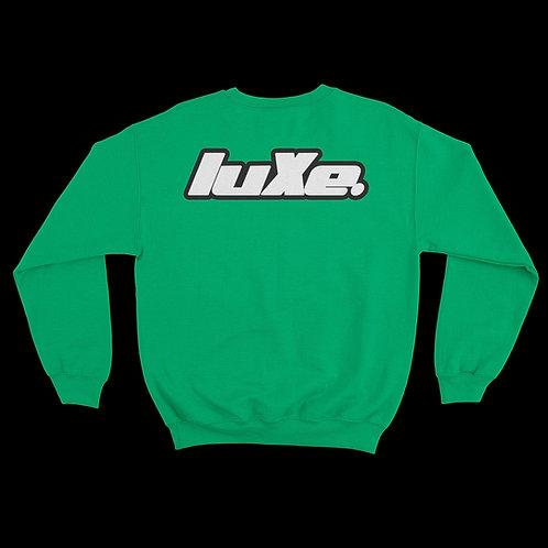 Pull Crewneck luXe Vert Celtique