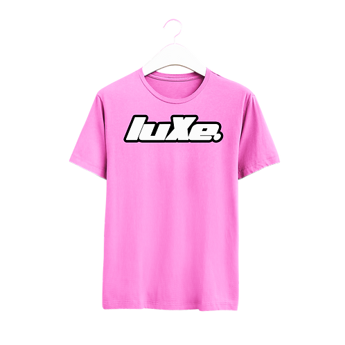 Tshirt luXe Rose Fluo