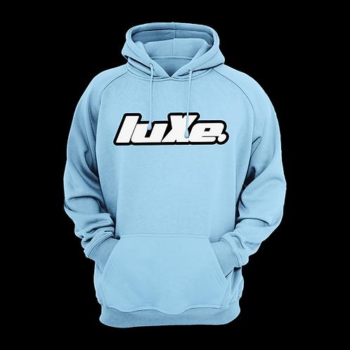 Hoodie luXe Bleu Ciel