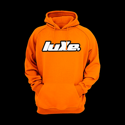 Hoodie luXe Safety Orange