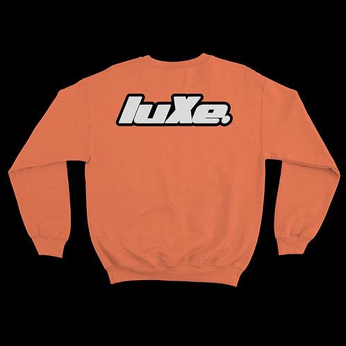 Pull Crewneck luXe Orange