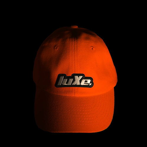Casquette luXe. Rouge