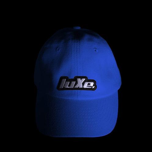 Casquette luXe. Bleu Electrique