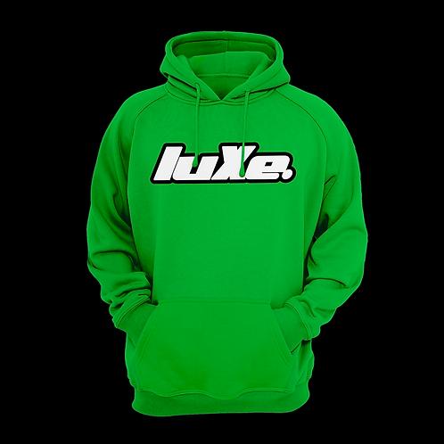 Hoodie luXe Vert Celtique