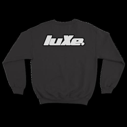 Pull Crewneck luXe Noir ( sans capuche )