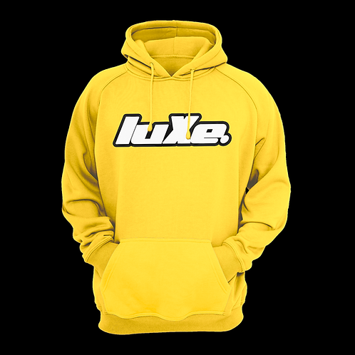 Hoodie luXe Jaune Poussin