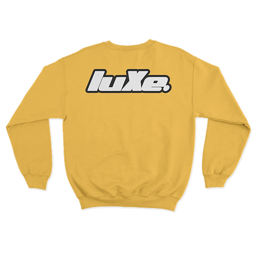 Pull Crewneck luXe Jaune Poussin