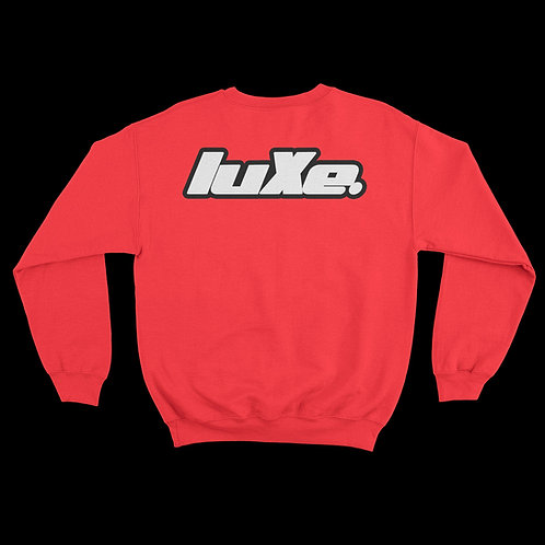 Pull Crewneck luXe Rouge