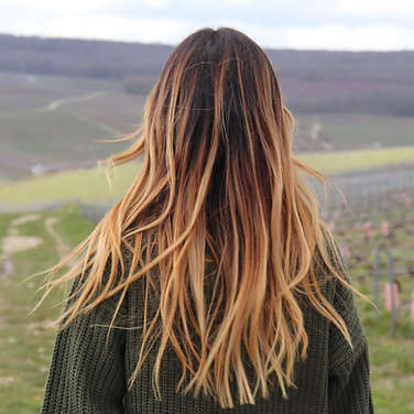 effortless hair_boho hair_golden_copper_organic color_hair stylist_PDX hairdresser_hairstylist_ Portland