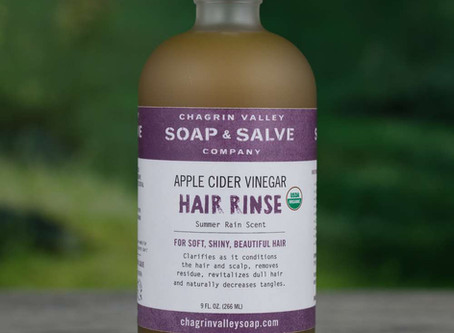Have you been wanting to try an apple cider vinegar rinse?
