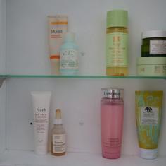 Skincare Shelfie