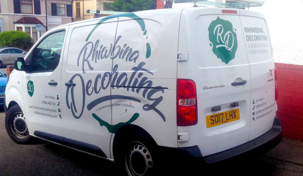 Rhiwbina Decorating Van