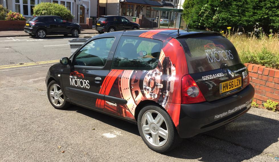 New Inn Motors Clio