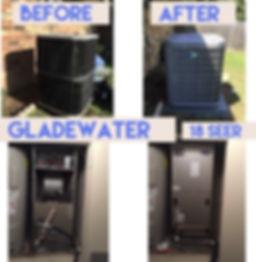 HVAC sytem install in Gladewater