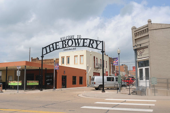 The Bowery in Winnsboro, TX