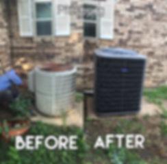 HVAC install in Pittsburg