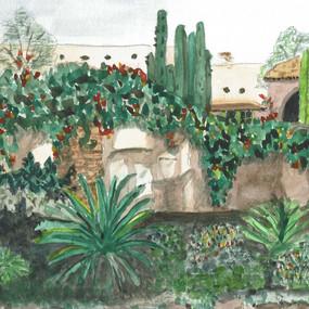 Mission Garden, San Juan Capistrano
