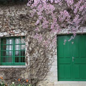 Giverny Green Door
