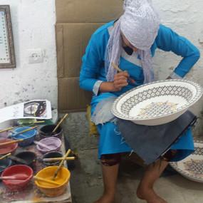 Fez Pottery Artisan