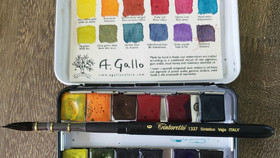 Passion for Paint:  Handmade Watercolors From A. Gallo