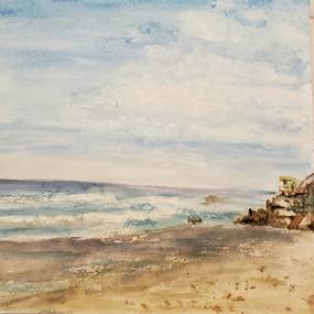 Morning Beach Walk