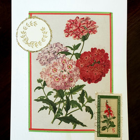 Floral Notecard