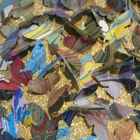 Golden Butterflies - Detail