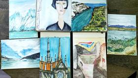 Travel Sketchbooks -