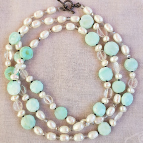 Sea and Sky Necklace