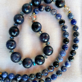 The Blues - Lapis and Sodalite Necklace