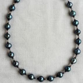 Grey South Sea Pearl Necklace