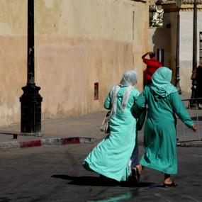 Walking in Fez