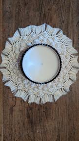 Mini Mandala Candle Decoration