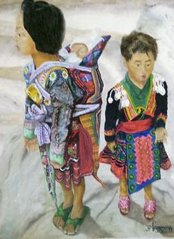 Les enfants Thaïs