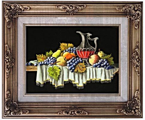 Fruits d'Automne et vin nouveau