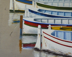 les barques huile