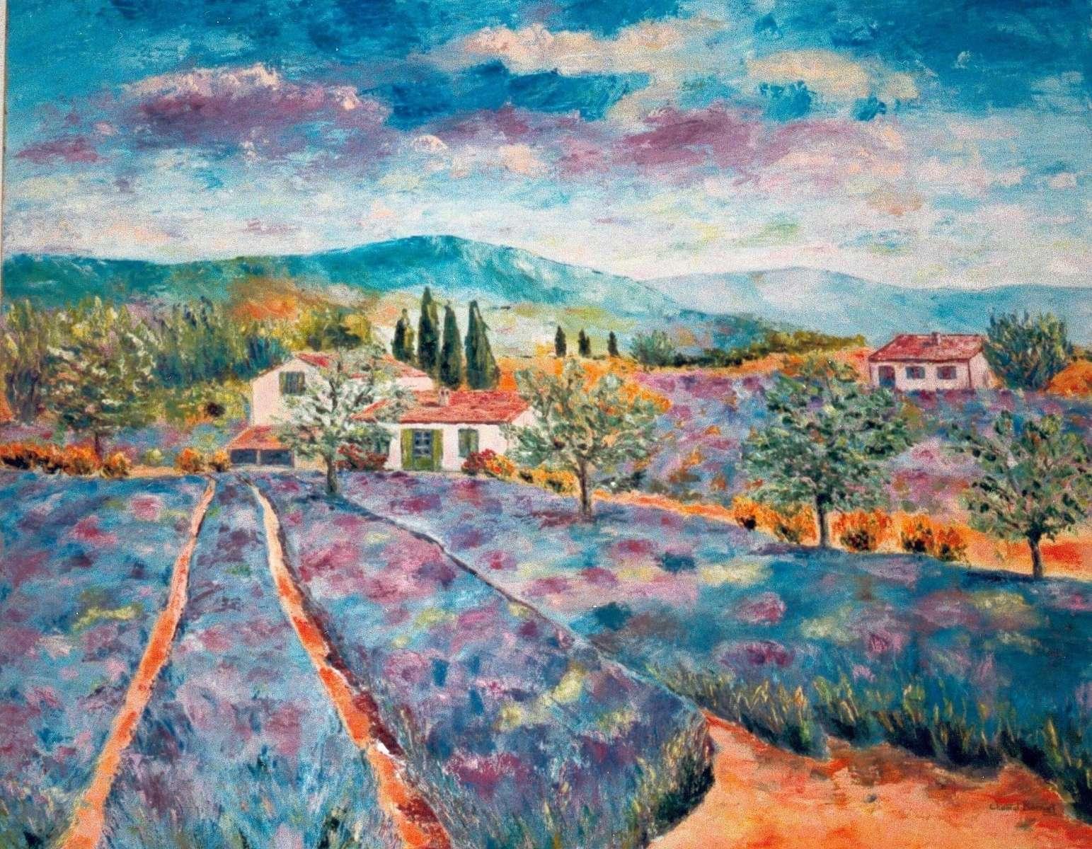 Parfum de Provence - 60x76