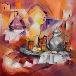 Marocan tea