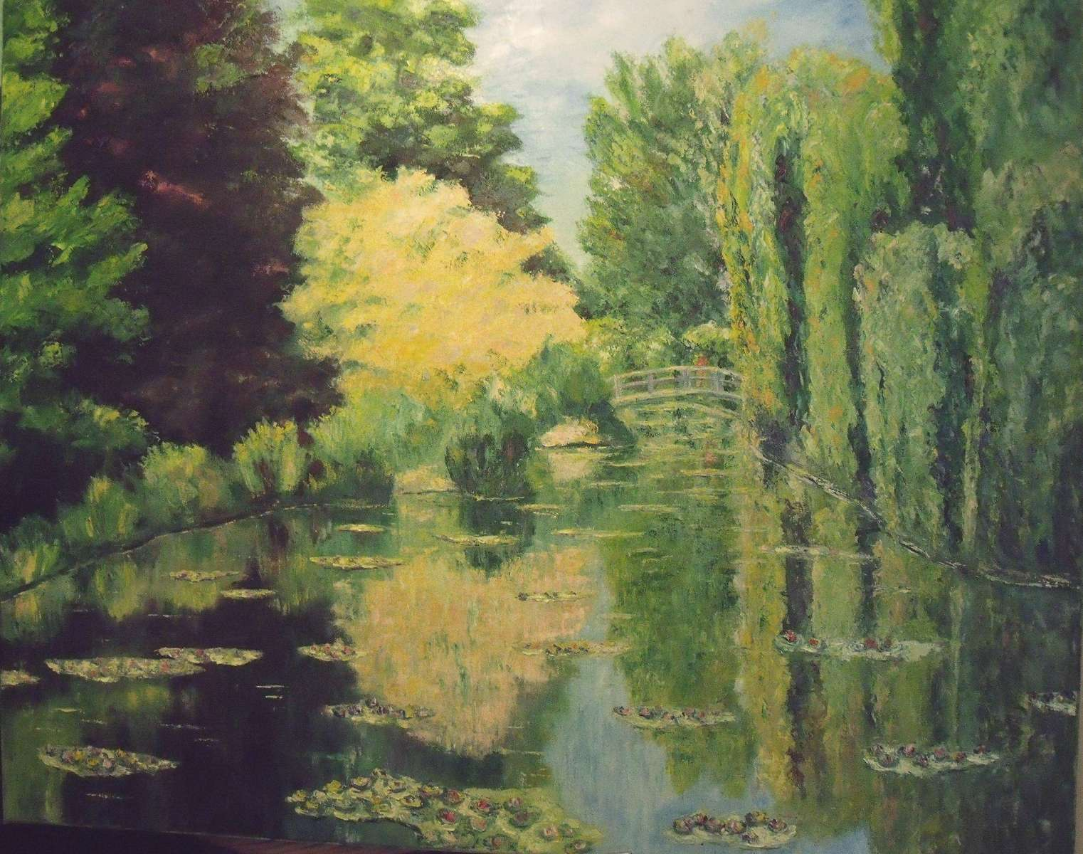 Giverny - 81x100