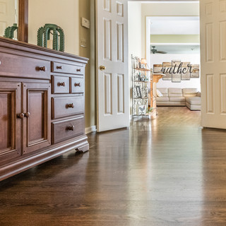 Seamless Hardwood Transitions from Room to Room