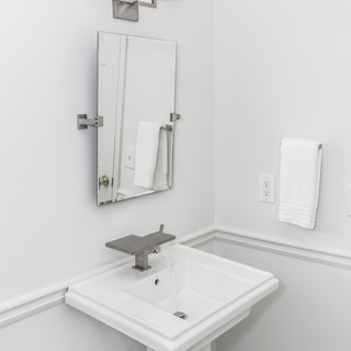 Modern Rectangular Pedestal Sink