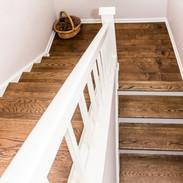 Hardwood Staircase Remodel
